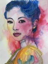 Couleurs Eclatantes de Zhang Ziyi - ARTEC