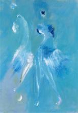 Imaginaire 2018-02, acrylique sur toile, 50 x 70 - ARTEC