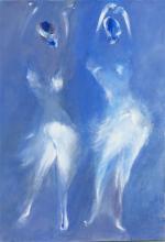 Imaginaire 2018-03, acrylique sur toile, 50 x 70 - ARTEC