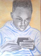 The new god of Africa, the phone - ARTEC