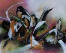 """""""ECHO GRAPHIQUE"""" - Acrylique sur toile - ARTEC"""