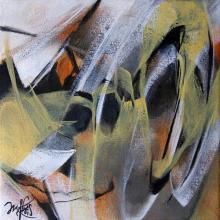 """""""ITINÉRANCE"""" - Acrylique sur toile - ARTEC"""