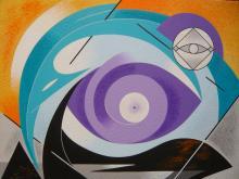 L'œil du monde, 2011 (54x65cm) - ARTEC