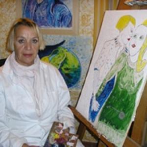 Portrait de Ghislaine Lagier