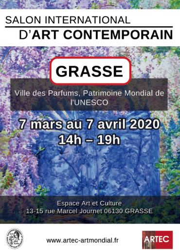 Salon International d'Art Contemporain de Grasse-sam, 07/03/2020 - 14:00-ARTEC