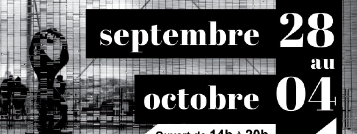 Noir et blanc : vernissage dans le bel atelier Gustave Paris-ARTEC