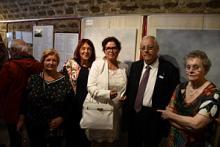 Vernissage réussi pour Méditation lumière à la salle Royale de l'Eglise de la Madeleine-ARTEC