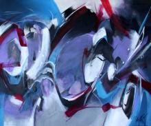"""""""LIBÉRATION"""" - Acrylique sur toile - ARTEC"""