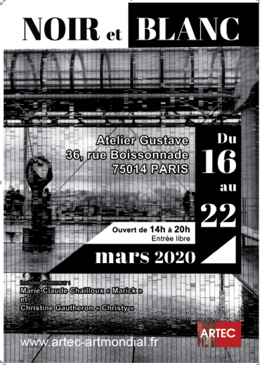 Noir et Blanc-lun, 16/03/2020 - 09:30-ARTEC