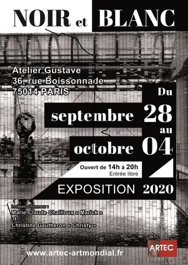 Noir et Blanc-lun, 28/09/2020 - 14:00-ARTEC