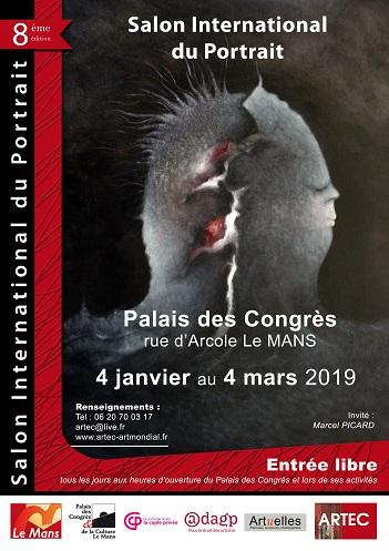 Salon international du portrait (SIP) 2019-ven, 04/01/2019 - 12:30-ARTEC